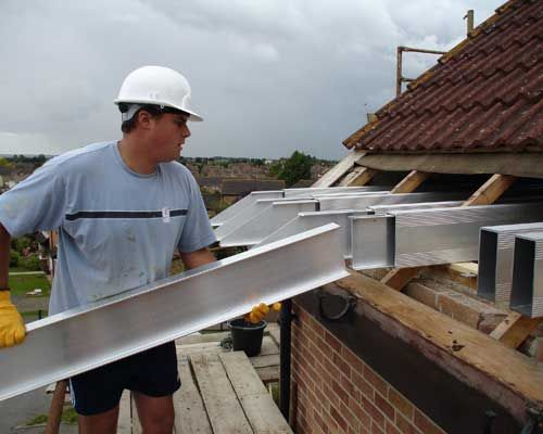 Insert Telebeams Into The Roof Space Loft Conversion Structure Loft Conversion Attic Conversion