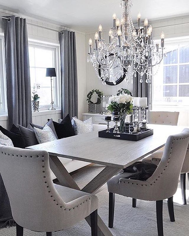 Modern Chic Dining  Home Dining Room  Pinterest  Modern Impressive Modern Chic Dining Room Inspiration Design