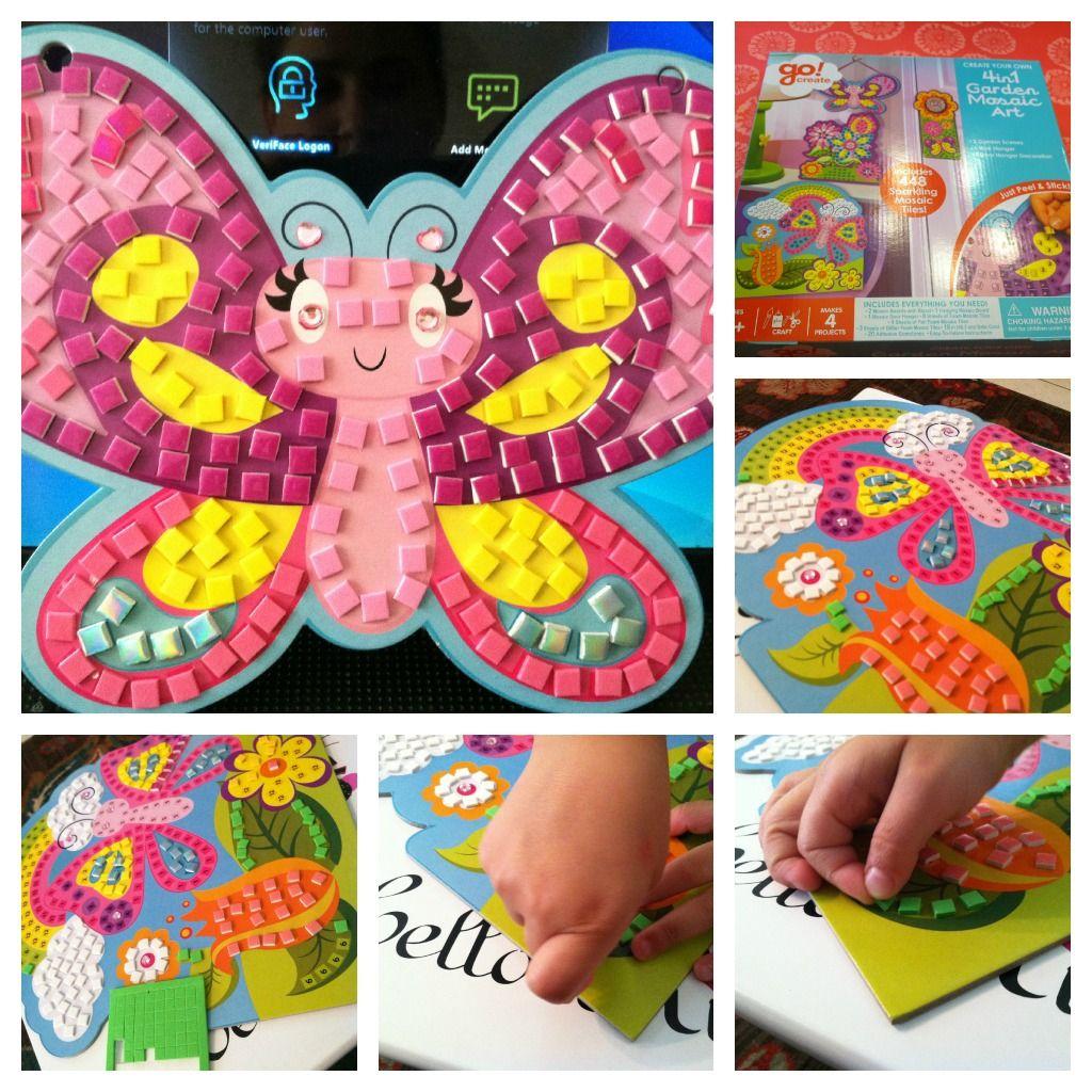 A Craft a Day: Sticker Mosaics   Kids Crafts   Pinterest   Crafts ...