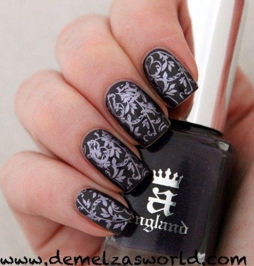 A-England - Elaine    #nail #nails #nailart