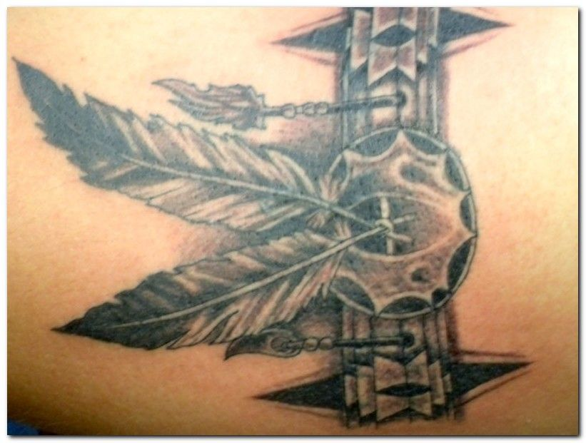 Native American Armband Tattoo Designs Native American Tattoo Designs Pictures 1 Tattoo Design Indian Feather Tattoos Body Art Tattoos Tribal Feather Tattoos