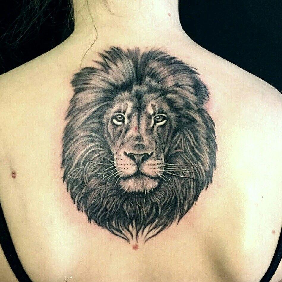 Pin By Violina Plamenova On Tatuagem Lion Tattoo Design Lion Tattoo Lion Back Tattoo