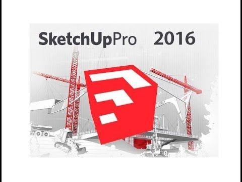Aula 10 - Baixar instalar e ativar sketchup pro 2016 fácil