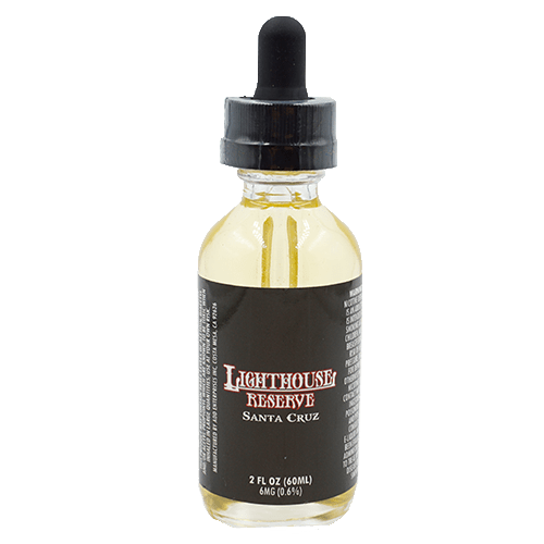 Lighthouse Reserve Santa Cruz - A Berry infused Funnel Cake topped with white Powdered Sugar70% VG