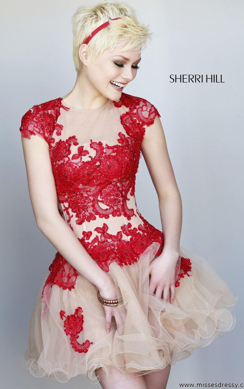 Vestido de festa curto de renda | criativa 17 | Pinterest | Vestido ...