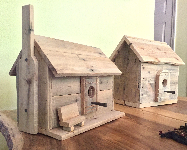 Cabin Birdhouses Bird House Kits Bird House Homemade Bird Houses
