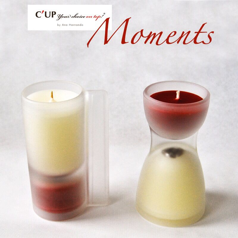Nueva línea de velas C'UP MOMENTS  New beatiful candles from C'UP  yourchoiceontop.com/shop/es #candles #home #design