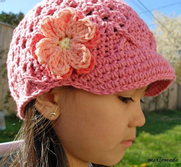 746fc222a99 Rose Pink 12-24 Months Girls Cotton Hat
