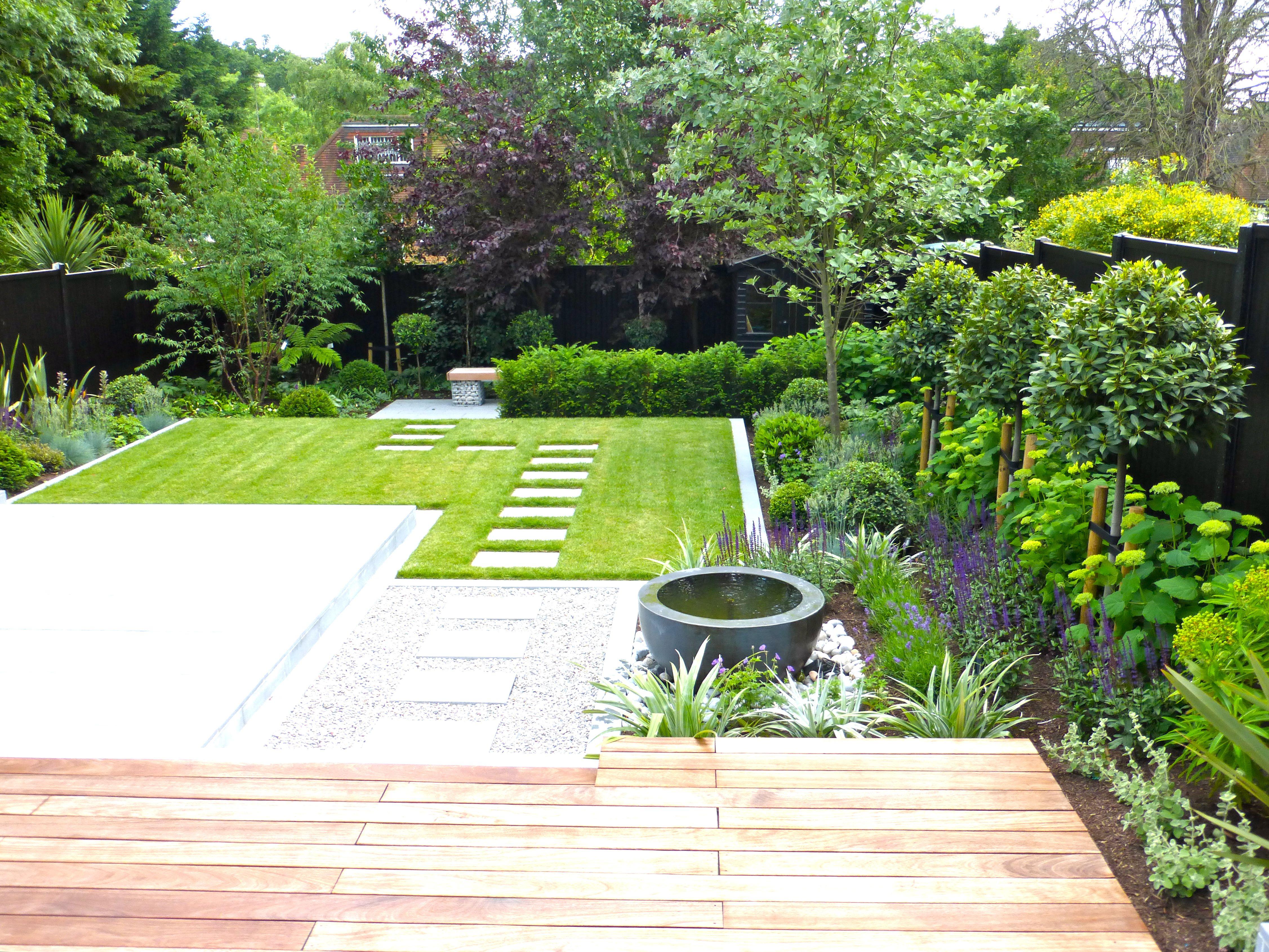 Contemporary Garden Borders Garden Design Ideas