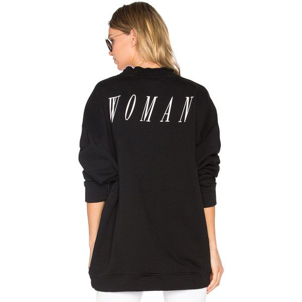 OFF-WHITE Something Special Crewneck Sweatshirt (£430) ❤ liked on Polyvore featuring tops, hoodies, sweatshirts, sweatshirts & hoodies, crew-neck sweatshirts, graphic crewneck sweatshirt, cotton hoodie, cotton hoodies and crew neck sweatshirts