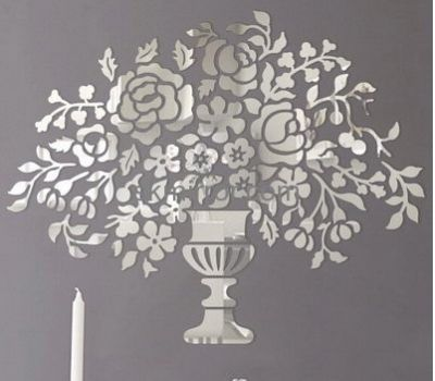 Acrylic Wall Mirror hot sale acrylic wall sticker tree acrylic mirror decoration