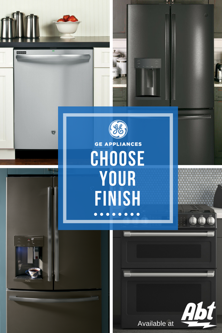 Upgrade your kitchen with GE appliances with premium finishes like ...