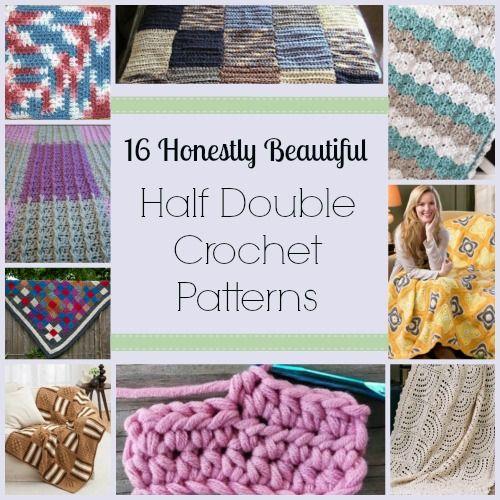 31 Honestly Beautiful Half Double Crochet Patterns Half Double