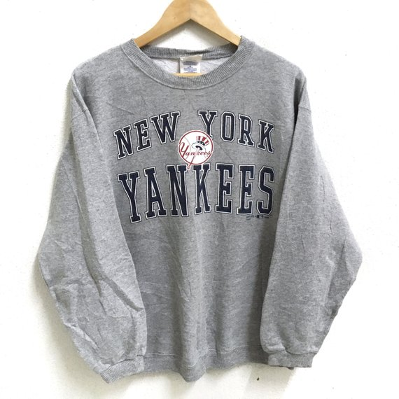 buy online 5621a fca72 Size League Jumper Yankees 2019 Products Medium Grey York ...