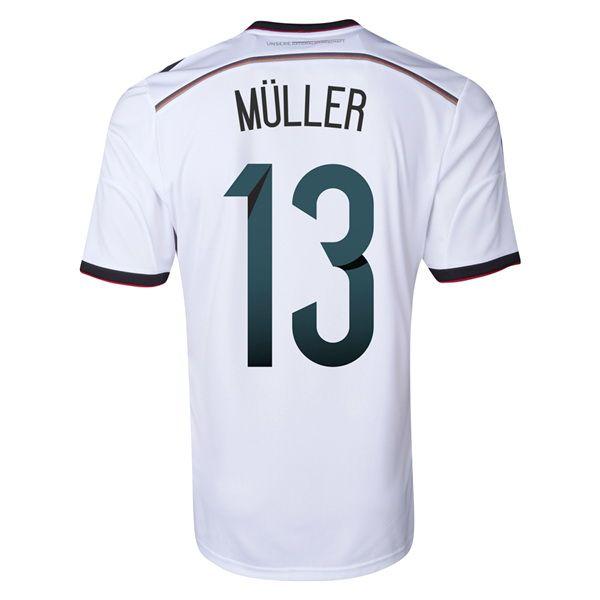 nuevas camisetas de Muller de Alemania 2014 1ª