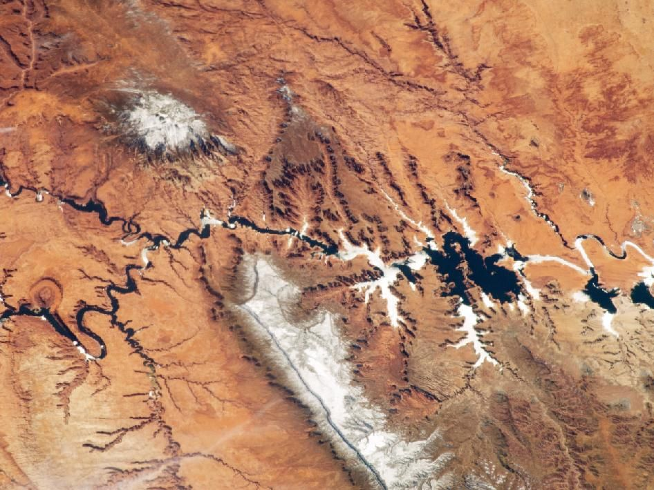 An astronauts view of the colorado plateau colorado plateau nasa fractal branching patterns in the earths surface nasa an astronauts view of the colorado plateau publicscrutiny Images