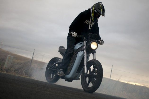 Nick Apex Burnout On The Brammo Enertia Motorcycle Vehicles