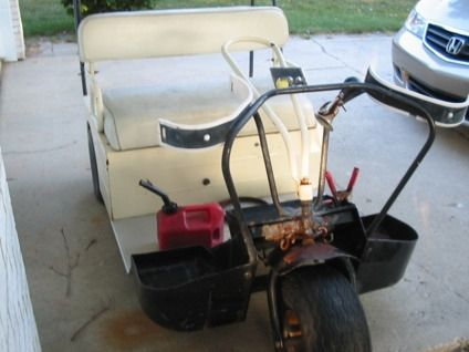 cushman 3 wheel golf cart google search vintage golf. Black Bedroom Furniture Sets. Home Design Ideas