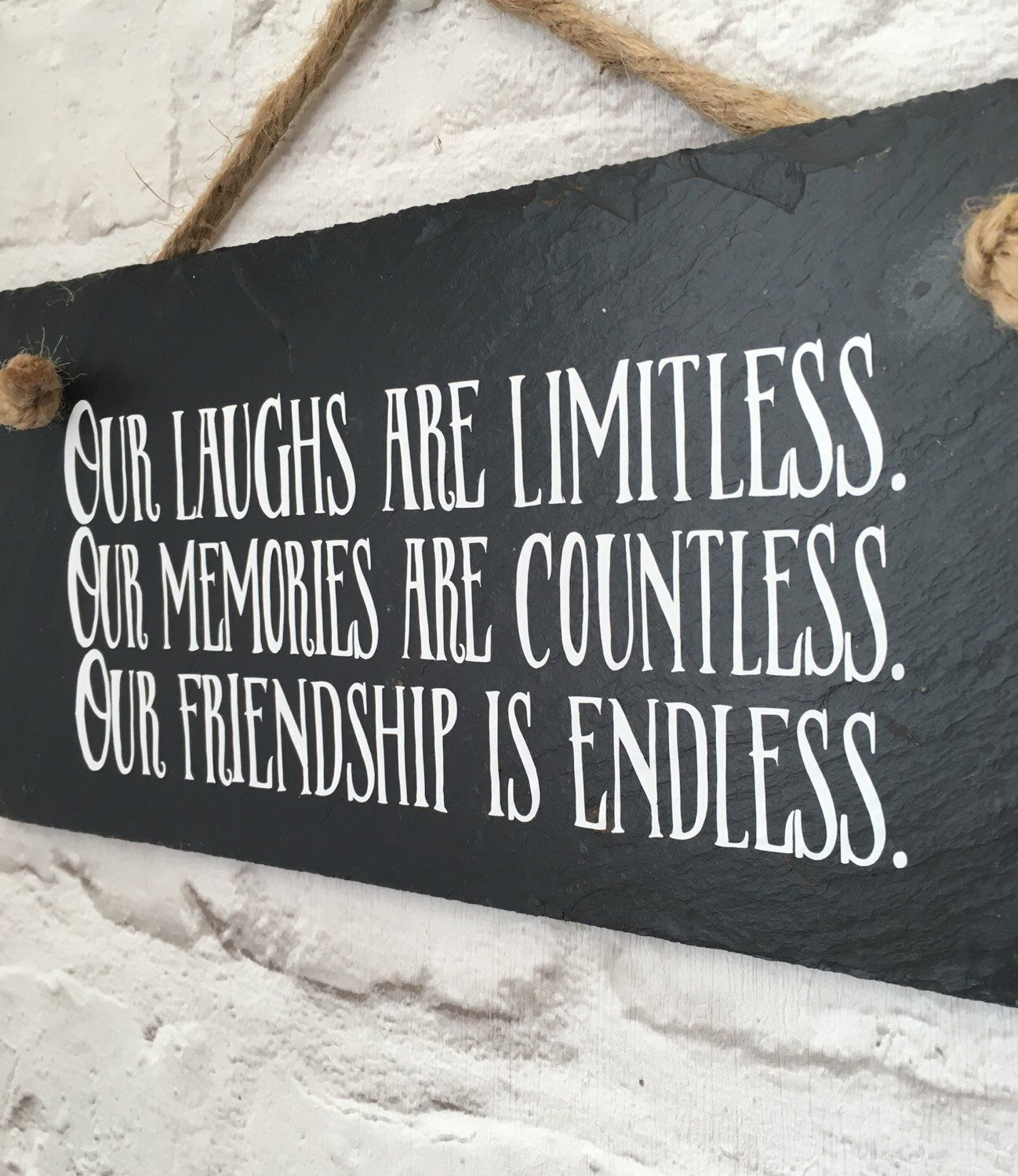 Friendship Wall Art, Friendship Quote, Gift For Friend