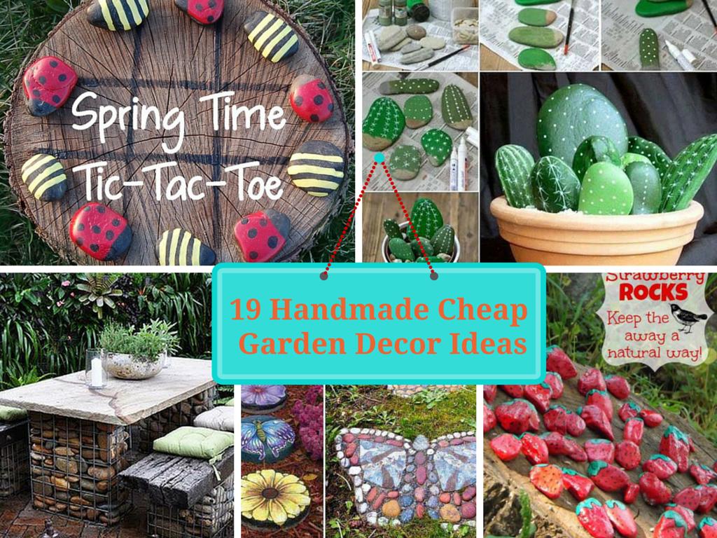 19 Handmade Cheap Garden Decor Ideas To Upgrade Garden Garden