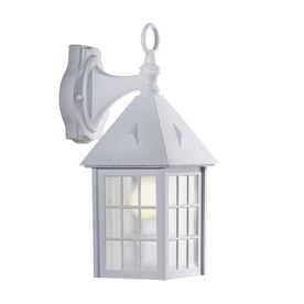 White Outdoor Lights Portfolio 1513In H White Outdoor Wall Light  For The Home