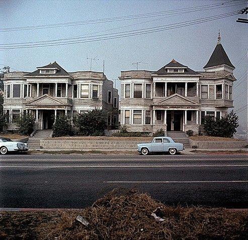 Flower St Los Angeles History Bunker Hill Los Angeles Hotel California