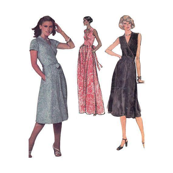 Diane Von Furstenberg Wrap Dress Sewing Pattern @Redcurlzs Vogue ...