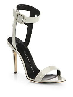 ae602ca13fc27 Giuseppe Zanotti - Strappy Patent Leather Sandals | I Love Shoes ...