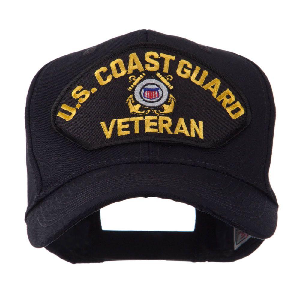 Veteran Military Large Patch Cap - US CG