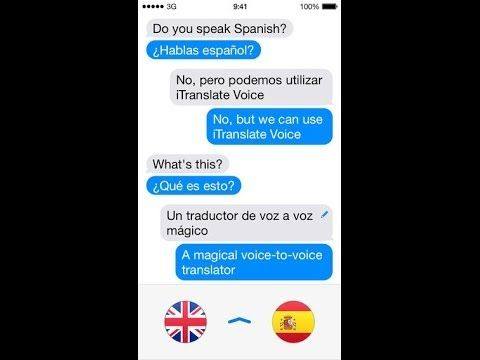 iTranslate Voice 2 is a voice to voice translation app for iPhone