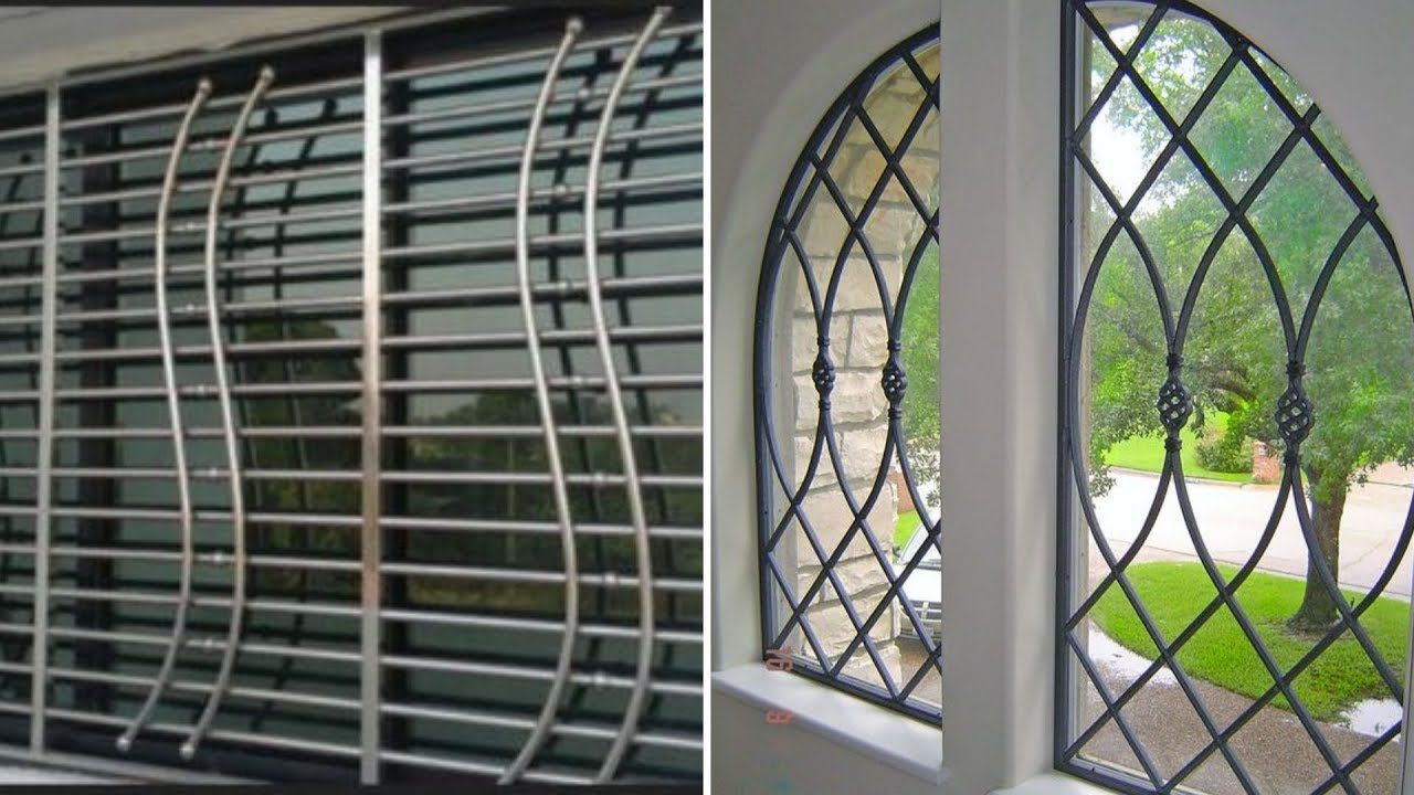 Unique Popular Window Grill Design 2018 7