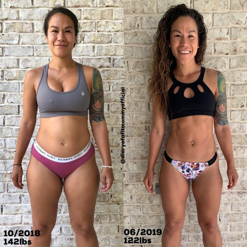 How I Lost 20lbs in 7 Months - Diary of a Fit Momm