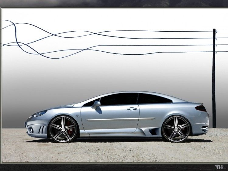Wallpapers Cars Peugeot Peugeot 407 Coupé Gt By Th Coupe 407