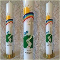 Kommunionkerze 400 50mm Der Weg Von Handmakecandle Auf Dawanda Com Kommunionkerze Erstkommunion Kerze Kommunionskerze Basteln