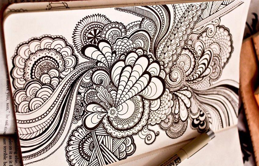 Mandalas Para Colorear Con Animales Y Zentangles: Zentangle Art Mandalas: Tutorial Con Videos En Español