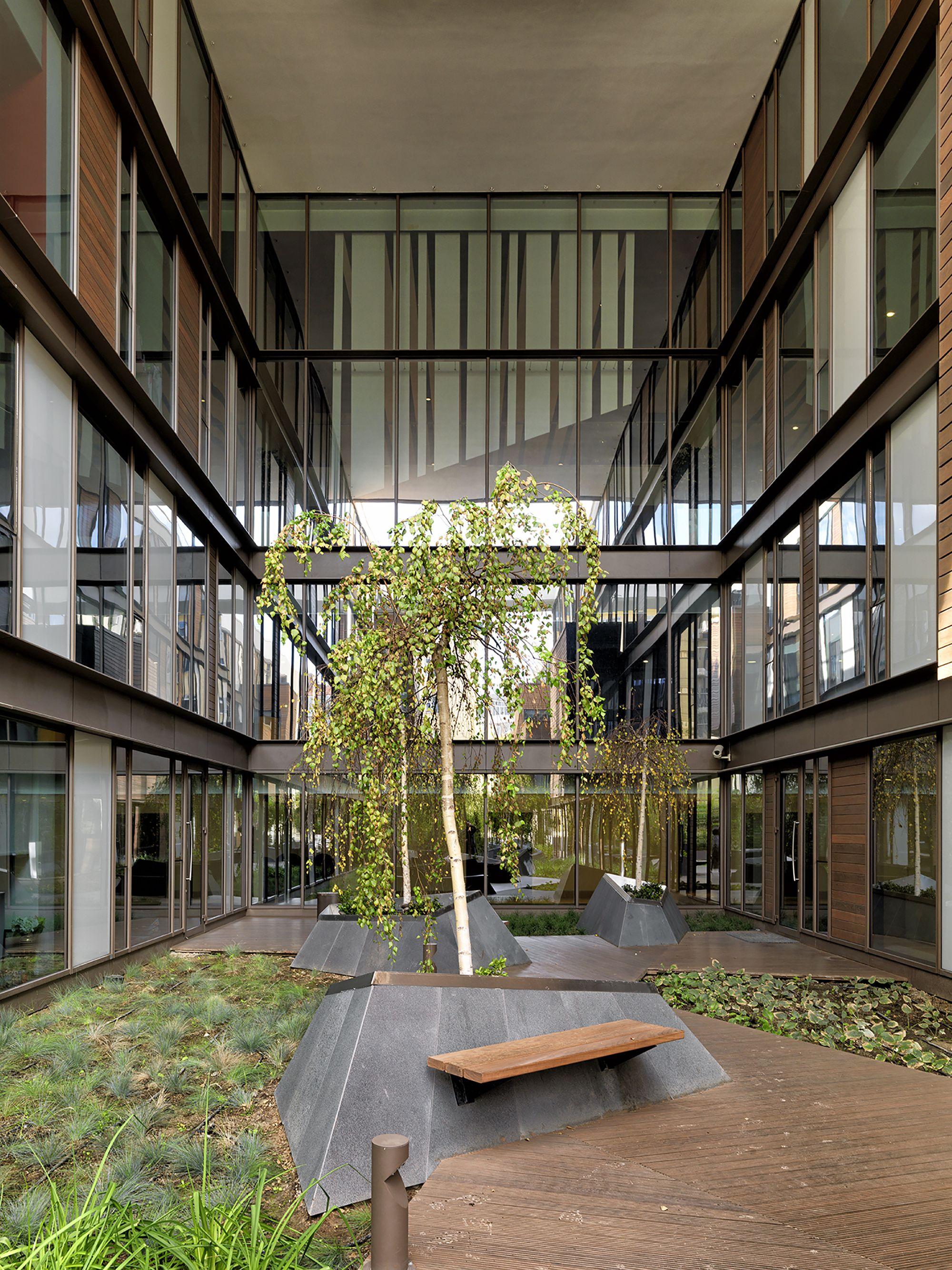 Gallery Of Ronesans Biz Muum 2 Atrium Design Green Architecture Landscape Design