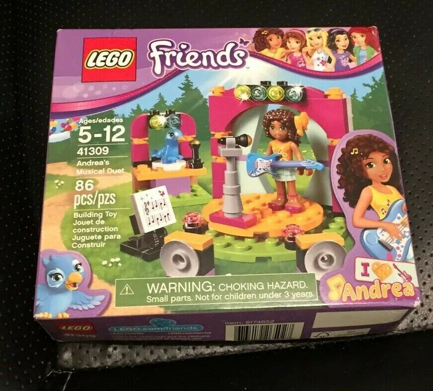 Lego Friends 41309 Andreas Musical Duet New In Sealed Box Afflink