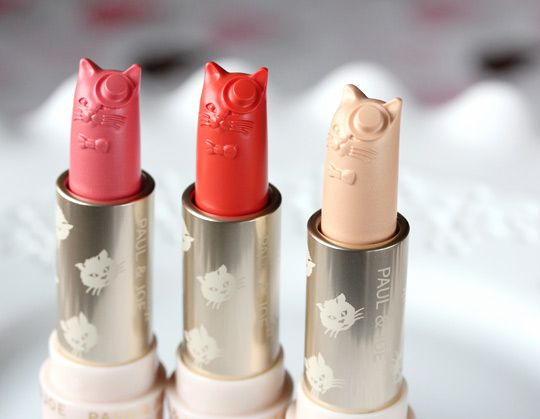 7a2f24f1a4d04 Blusher Sticks from Paul   Joe s Kitten Collection... How could anyone  actually ever use these ! They are too cute!
