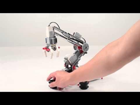 LEGO® MINDSTORMS® Education EV3 Robot Arm - YouTube