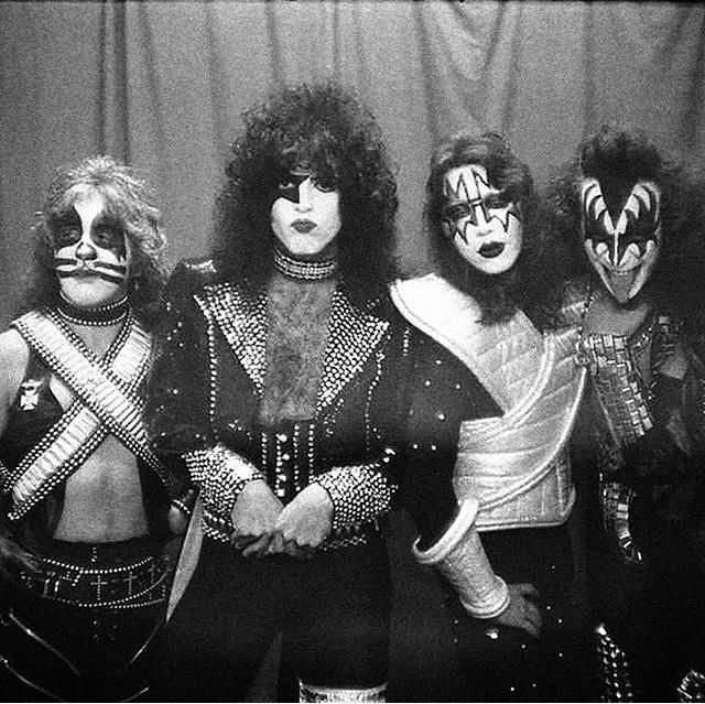 Pin by Lee Thomson on KISS 1977 & 1978 Kiss rock bands