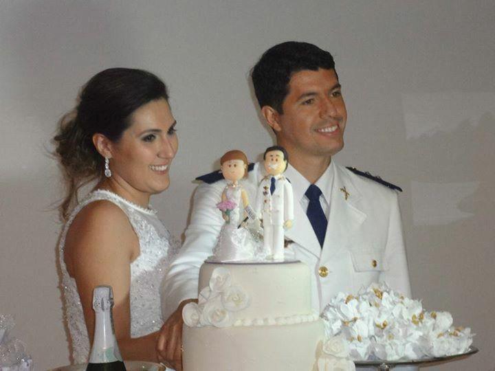 Noivinhos na festa.. noivos Silvana e Eder