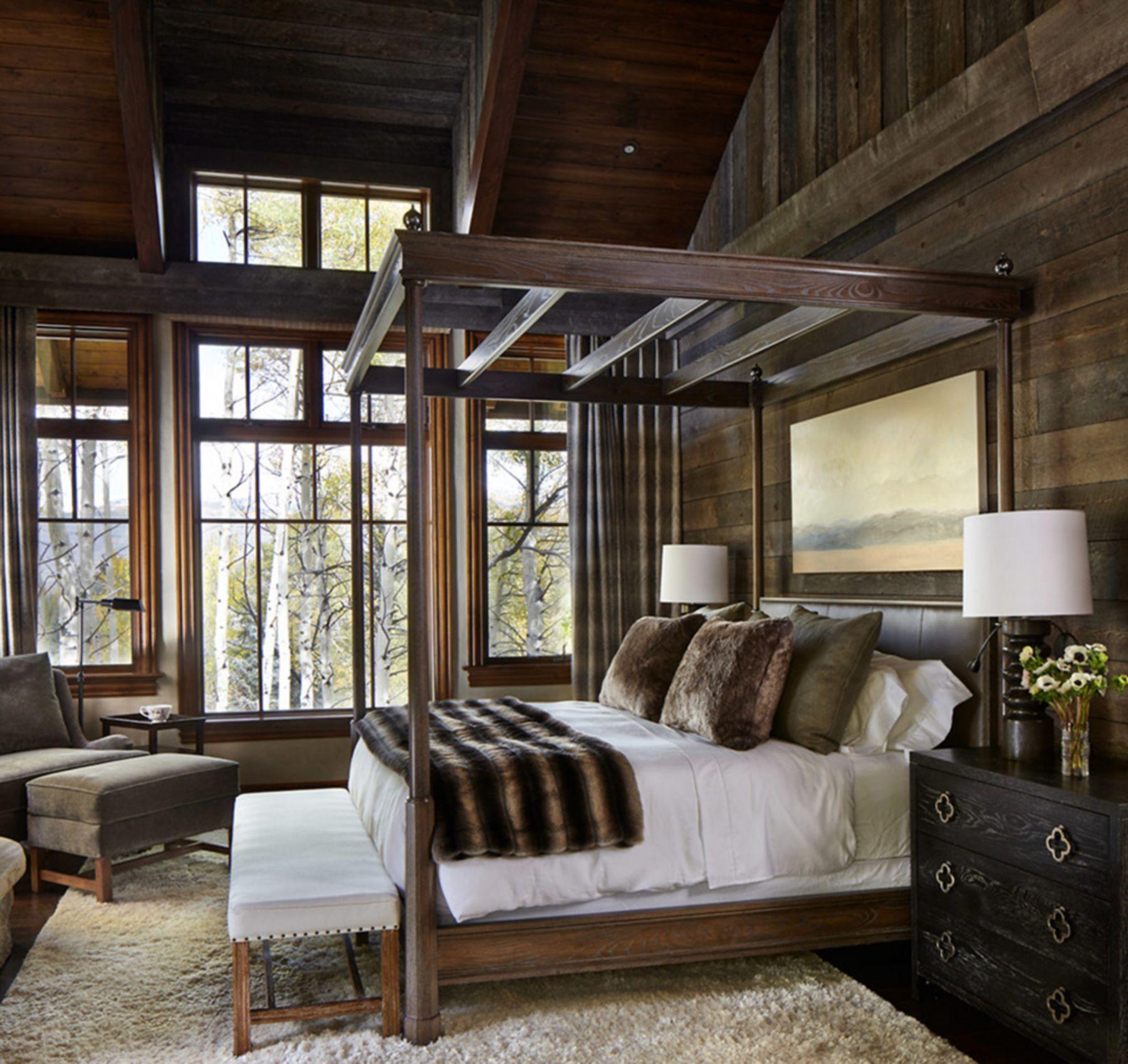 Top 10 Modern Rustic Interior Ideas For Master Bedroom Elegant