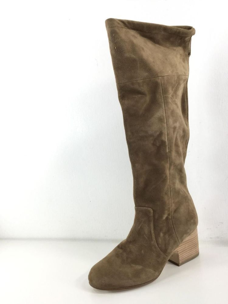 be636bc3f25 H12 Eileen Fisher Tan Suede Tall Knee High Boots Women s Size 8 M  fashion   clothing  shoes  accessories  womensshoes  boots (ebay link)