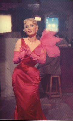Zsa Zsa Gabor wore Elsa Schiaparelli in Moulin Rouge