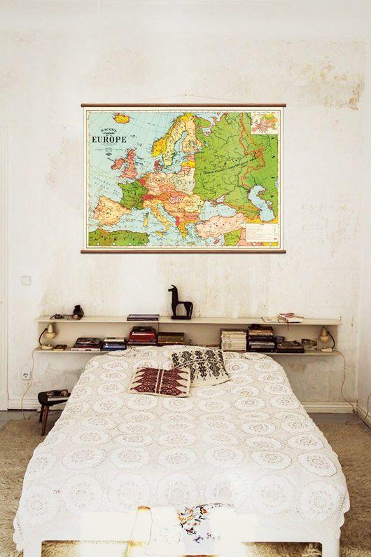Kaart van Europa – Wall Discovery