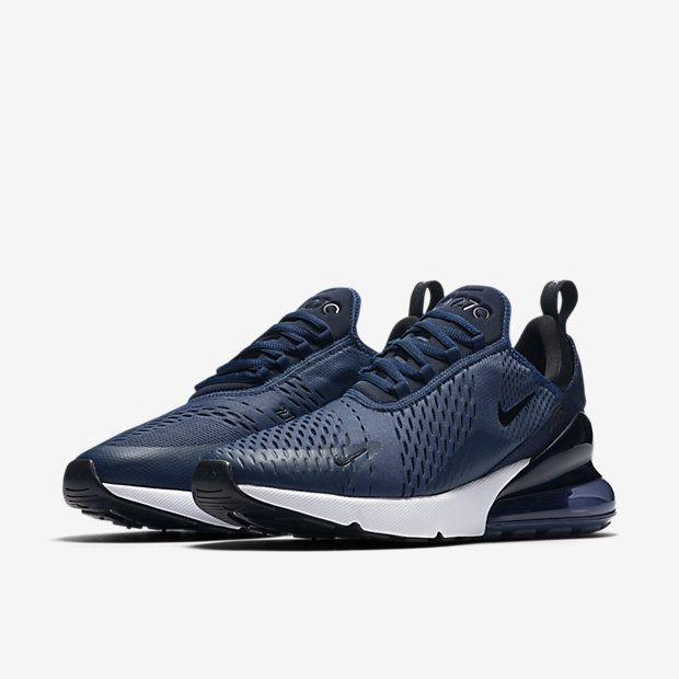 2436d7dfa68 Nike Air Max 270 Midnight Navy in 2019 | wishlist | Sneakers nike ...