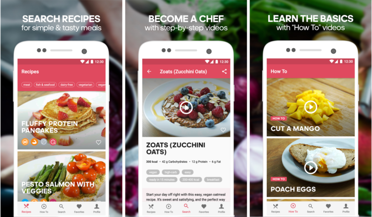 Runtastic releases runtasty android app for healthy recipes runtastic releases runtasty android app for healthy recipes forumfinder Gallery