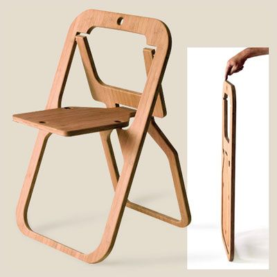 Cleverest SpaceSaving Folding Chair Designs Folding chairs