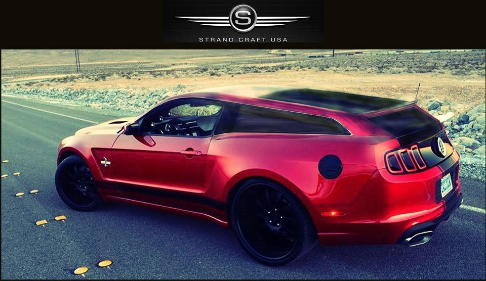 2017 Ford Mustang Shelby Shooting Brake Is Coming Yes That S