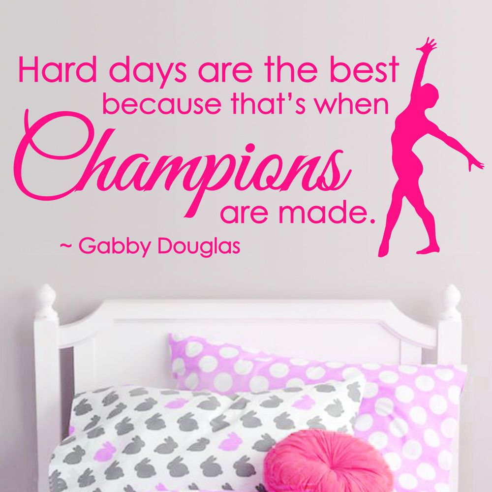 Images for cool gymnastics quotes sports pinterest for Inspirational quotes for kids room